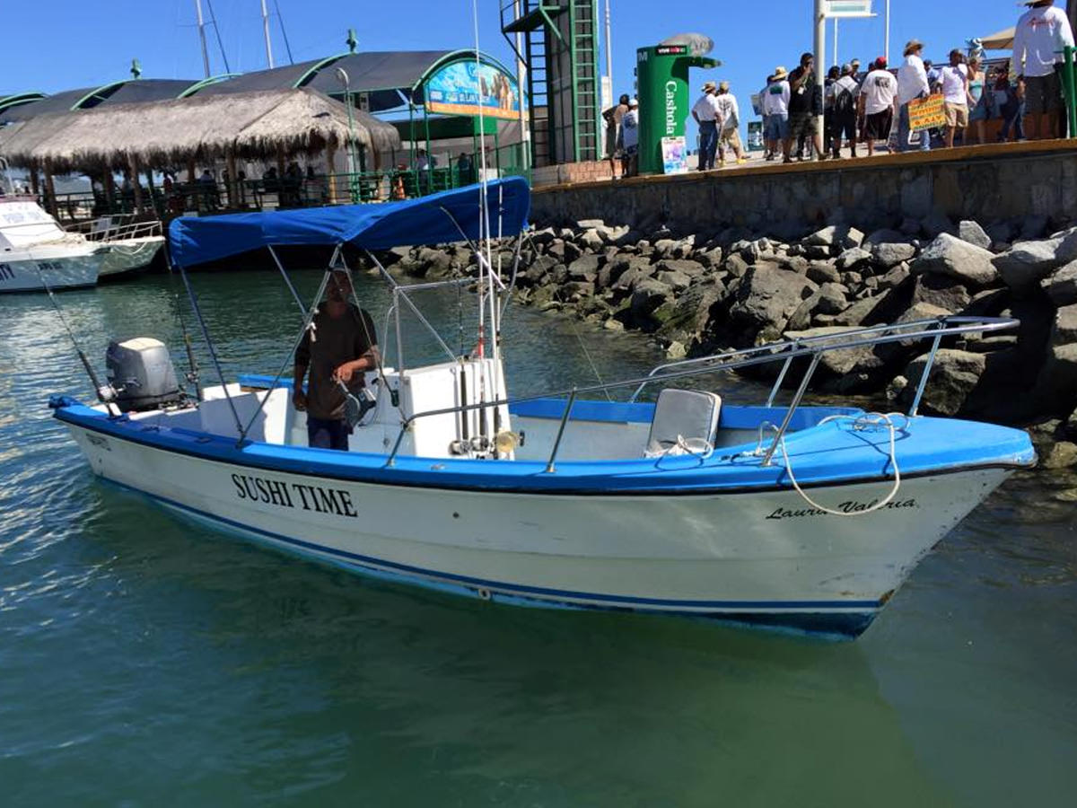 24 ft Fishing Panga