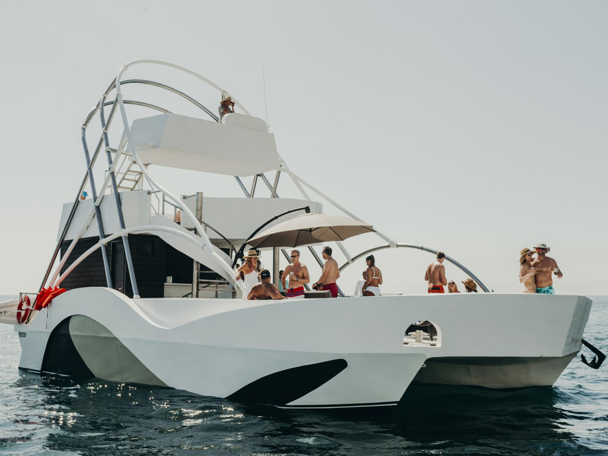 45 ft Custom Vip Boat
